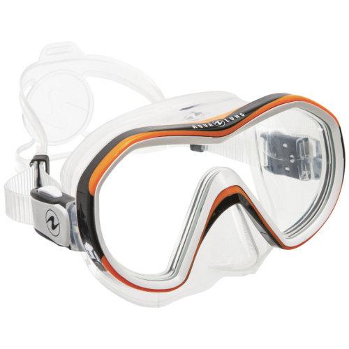 Oranžová potápěčská maska REVEAL X1, Aqualung