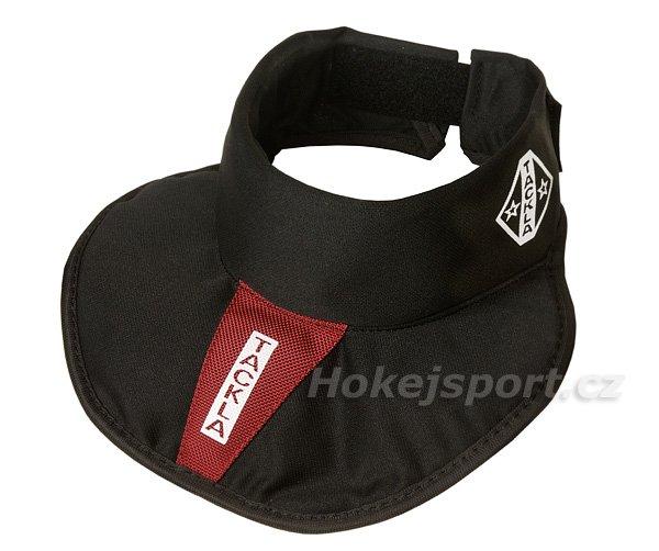 Hokejový nákrčník - Nákrčník Tackla TGR 155 Junior Barva: černá