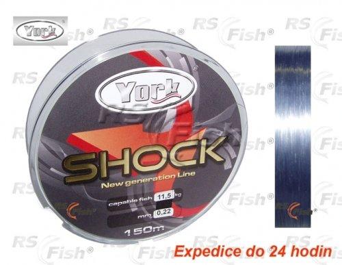 Rybářský vlasec - York® Vlasec York Mega Shock 0,30 mm