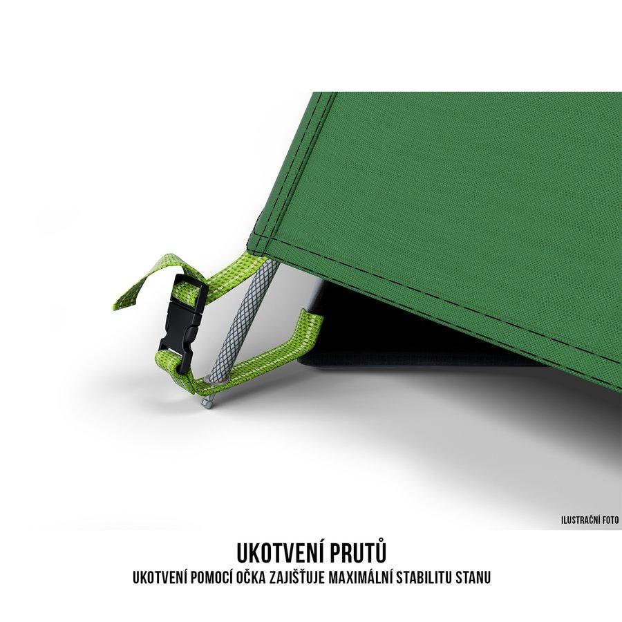Stan - Husky Stan Outdoor Bonelli 3 sv. zelená