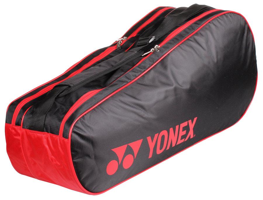 Černo-červená tenisová taška Yonex