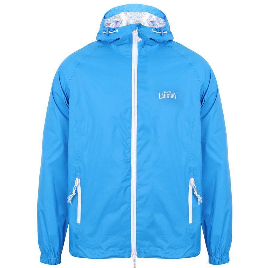 Modrá sportovní pánská bunda Tokyo Laundry