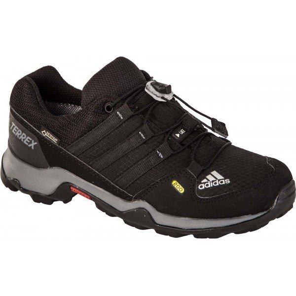 Černé chlapecké trekové boty Adidas