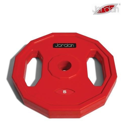 Kotouč na činky - Studio Barbell Jordan kotouč 5 kg červený