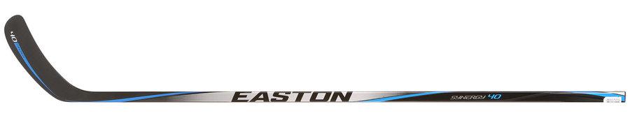 Hokejka - Kompozitová hůl Easton Synergy 40 GRIP Junior Provedení: pravá E3 (Hall) - flex 50