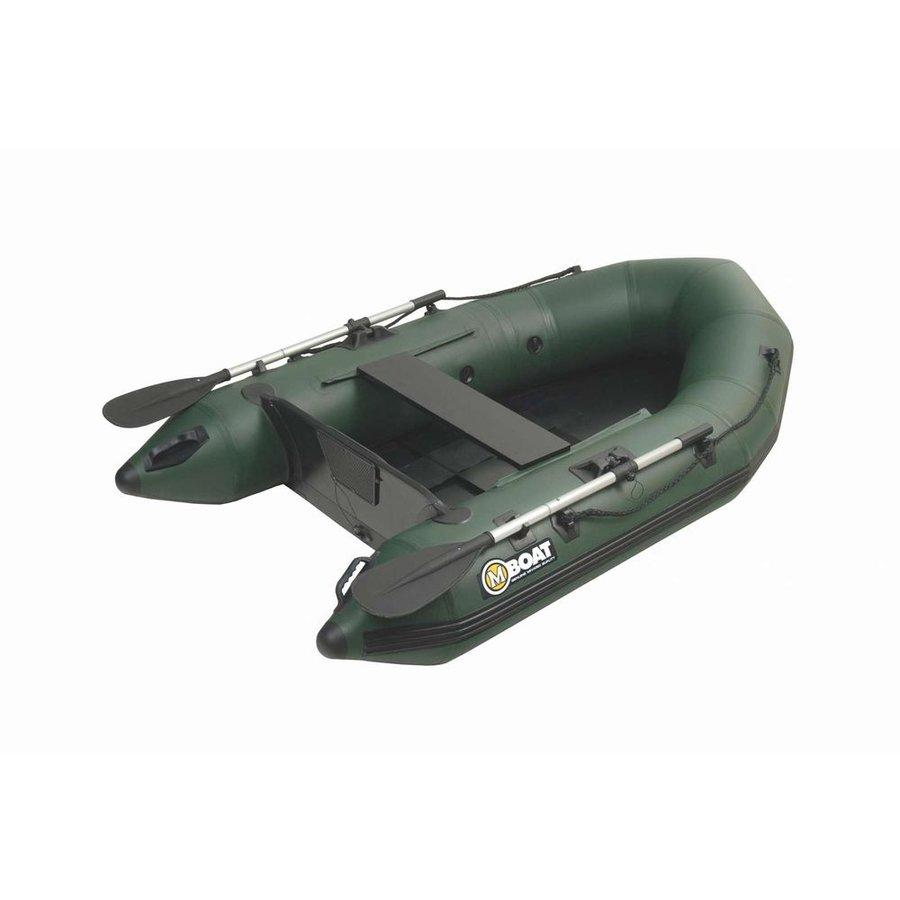 Zelený nafukovací rybářský člun Mivardi