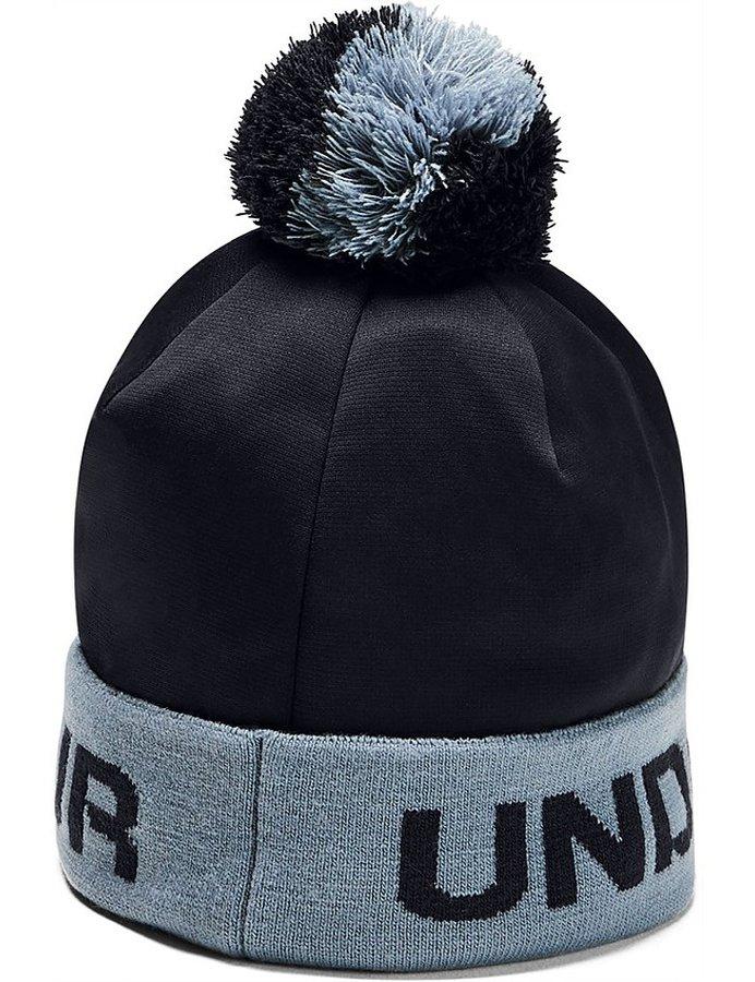 Černá chlapecká zimní čepice Under Armour