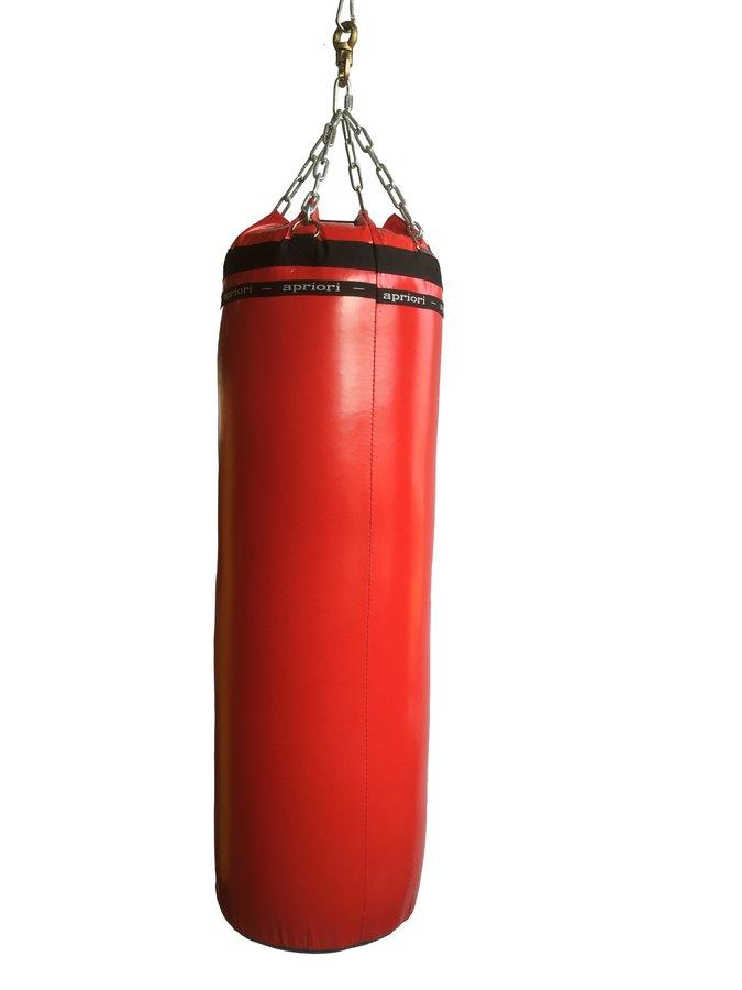 Červený boxovací pytel APRIORI