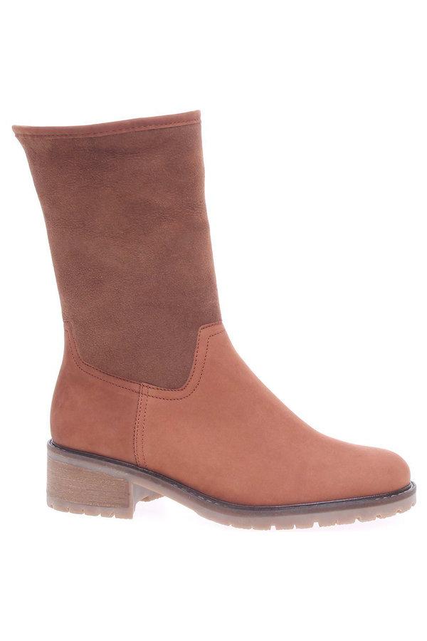 Hnědé dámské zimní boty Gabor