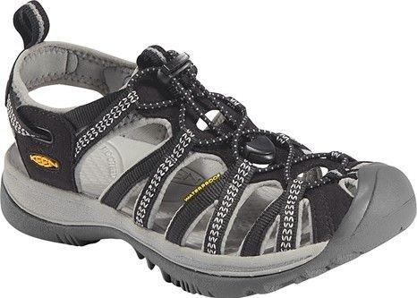 Černo-šedé dámské sandály Whisper, KEEN - velikost 37 EU