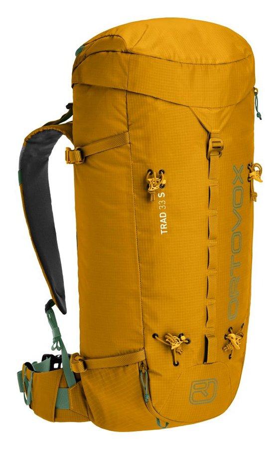 Žlutý horolezecký batoh Ortovox - objem 33 l