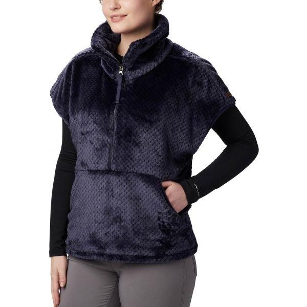 Modrá fleecová dámská vesta Columbia