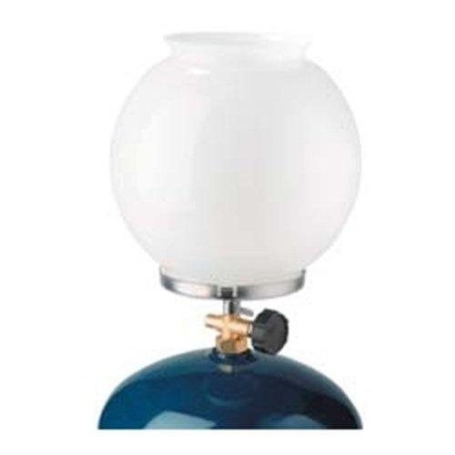 Bílá plynová lampa