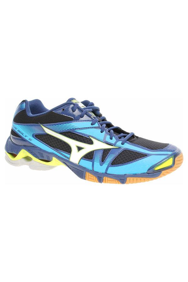 Modré pánské boty na volejbal Wave Bolt, Mizuno - velikost 47 EU