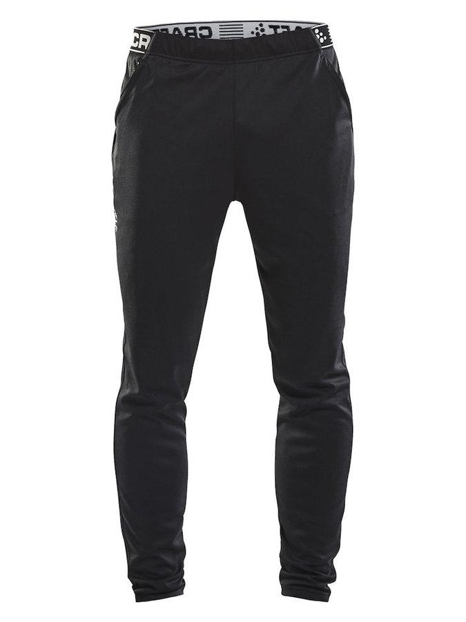Černé dlouhé pánské cyklistické kalhoty Craft - velikost M