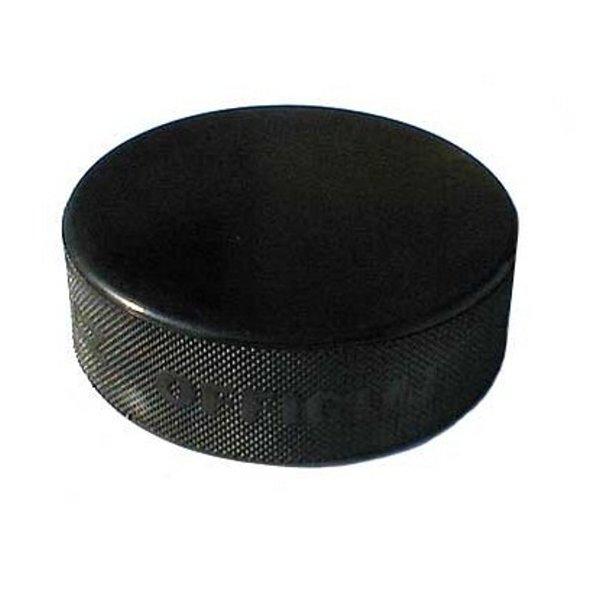Černý hokejový puk Gufex
