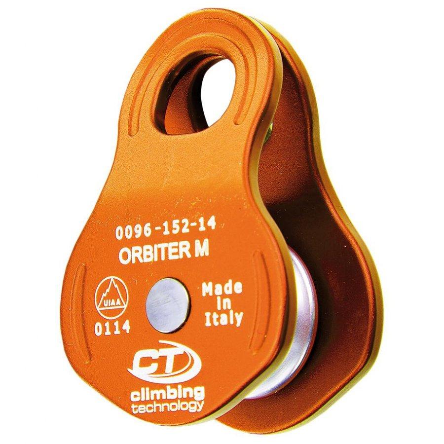 Oranžová kladka Climbing Technology