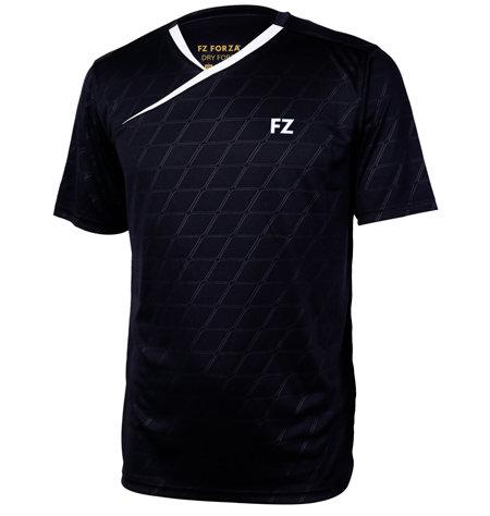 Černé pánské funkční tričko s krátkým rukávem FZ Forza