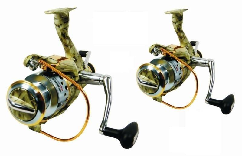 Rybářský naviják - Carson Naviják Hermes Runner Camo 60, Akce 1+1 Zdarma!