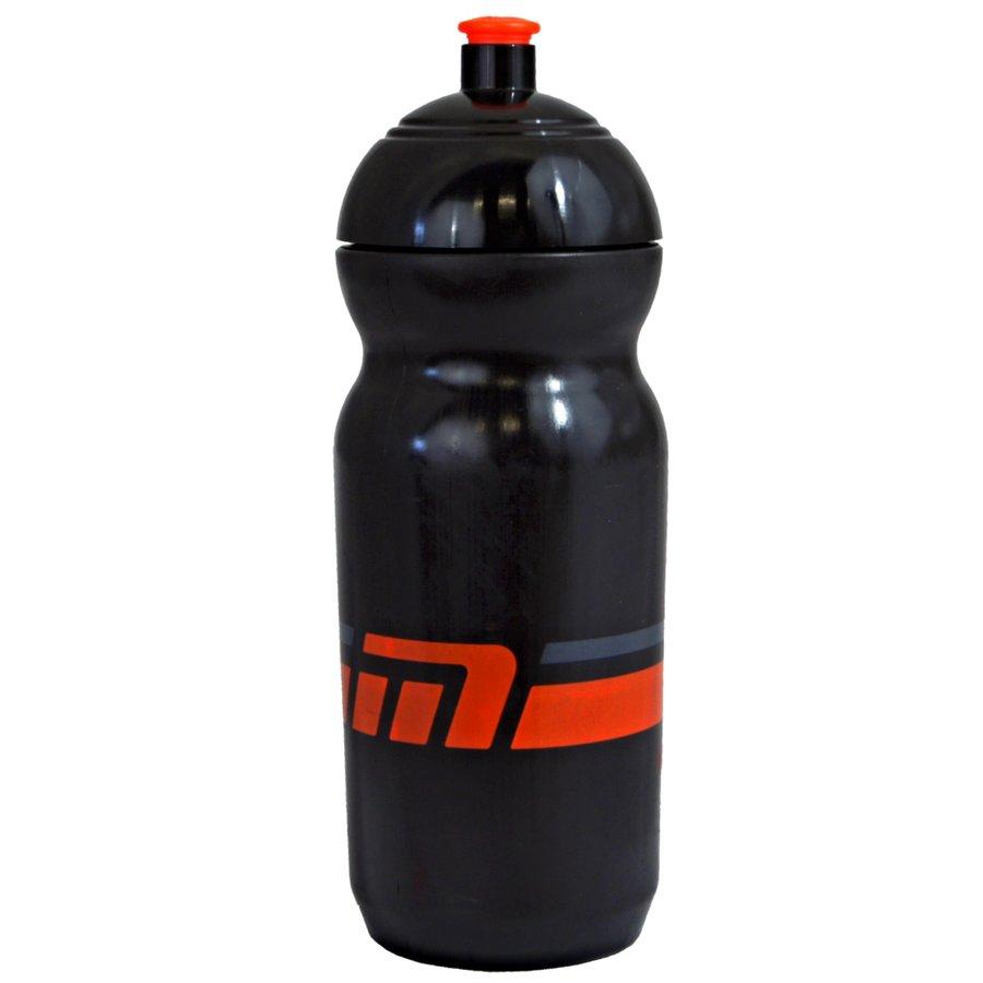 Černá cyklistická láhev na pití Maxbike - objem 0,6 l