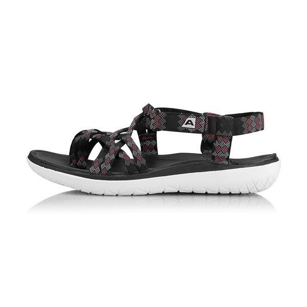 Černé dámské sandály Alpine Pro