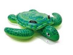 Zelené dětské nafukovací lehátko INTEX - délka 150 cm a šířka 127 cm