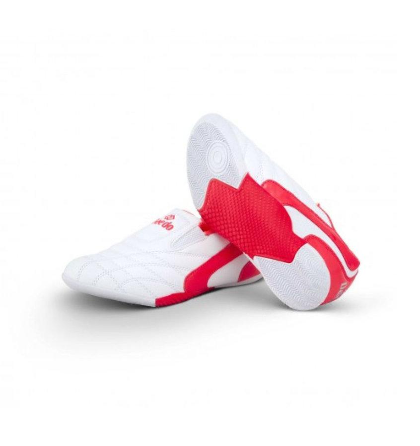Bílá dětská sálová obuv Kwon