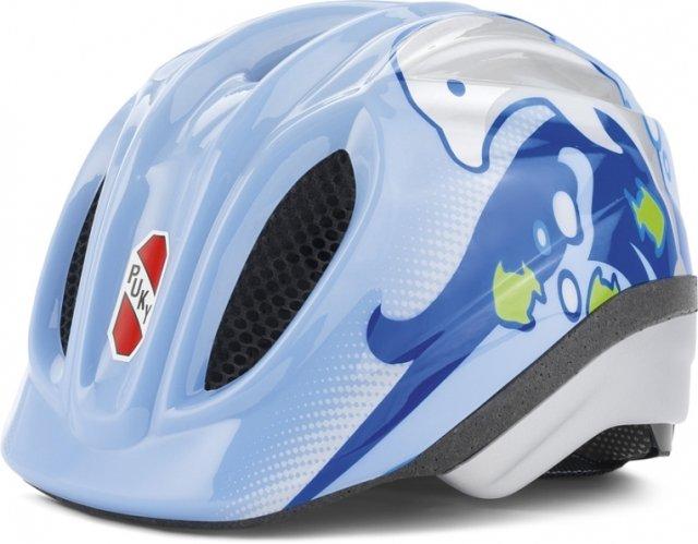 Cyklistická helma - PUKY - Přilba - oceánská modrá - velikost S / M
