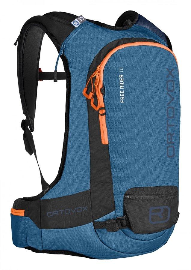 Modrý skialpový batoh Ortovox - objem 16 l