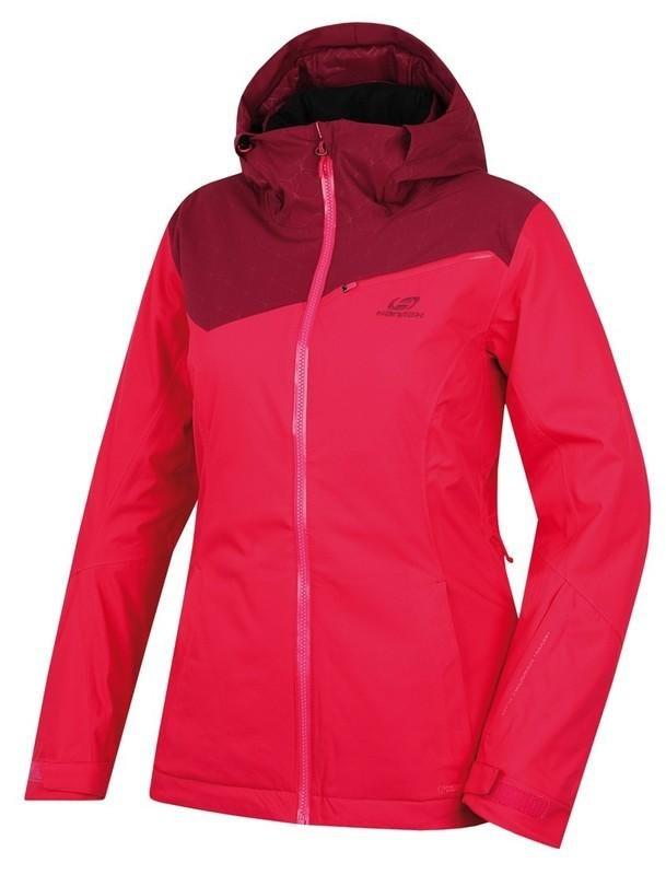 Červená dámská lyžařská bunda Hannah - velikost 42