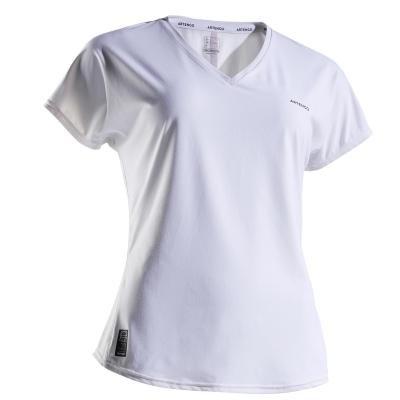 Bílé dámské tenisové tričko Artengo