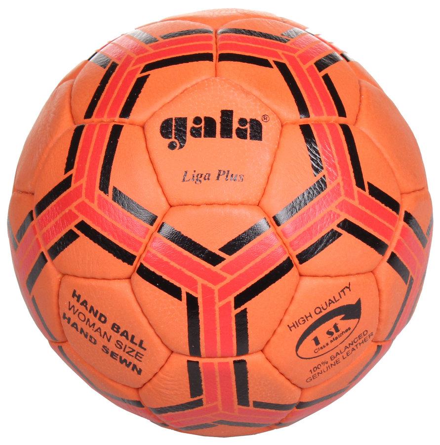 Oranžový míč na házenou Liga Plus BH2023L, Gala - velikost 2
