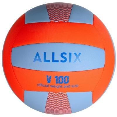 Volejbalový míč - Allsix Míč V100 Modro-Oranžový