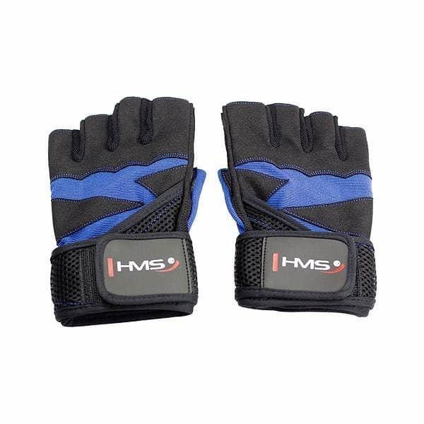 Modré fitness rukavice HMS - velikost XL