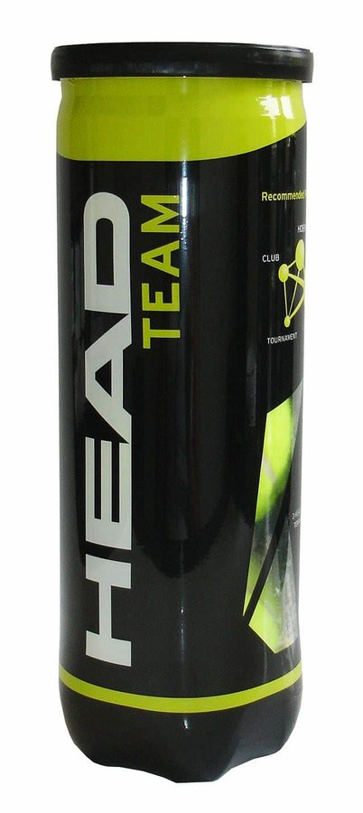 Tenisový míček - HEAD Tenisové míče TEAM - 3 ks v dóze