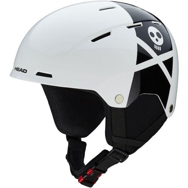 Bílá pánská lyžařská helma Head - velikost XS
