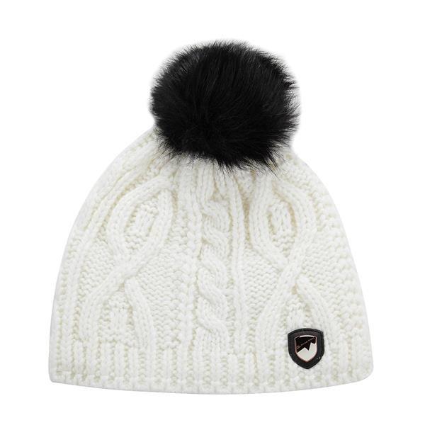 Bílá zimní čepice Alpine Pro - velikost L