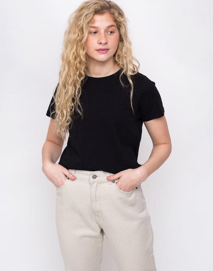 Černé dámské tričko s krátkým rukávem Colorful Standard - velikost M