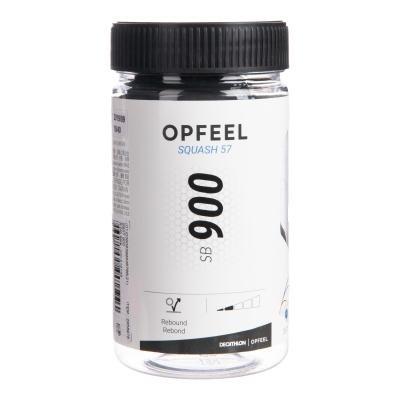 Černý míček na squash Opfeel - 2 ks