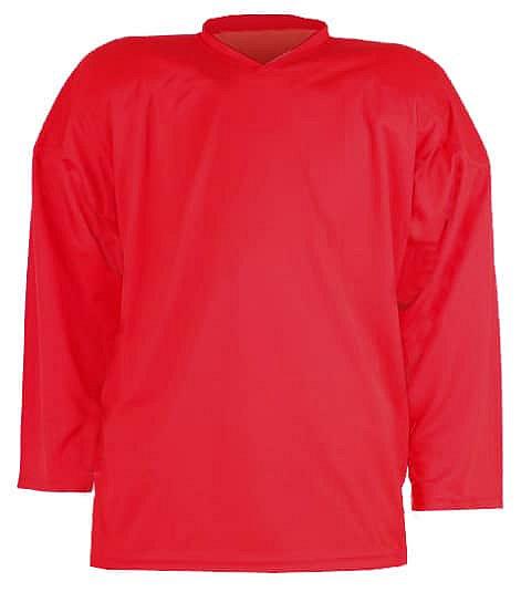 Červený tréninkový hokejový dres Merco - velikost L