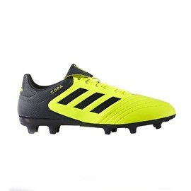 Černo-žluté kopačky lisovky Performance Copa, Adidas - velikost 42 EU
