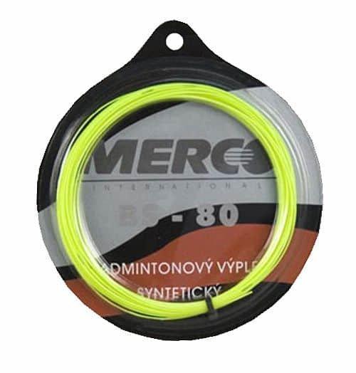 Badmintonový výplet BS 80, Merco - průměr 0,7 mm