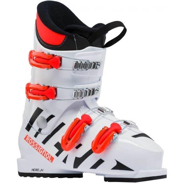 Bílé dětské lyžařské boty Rossignol - velikost vnitřní stélky 25 cm