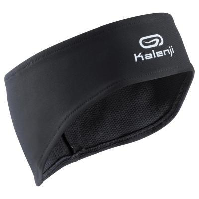 Černá běžecká čelenka Kalenji - univerzální velikost