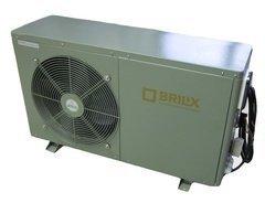 Tepelné čerpadlo XHP FD 200, Brilix - výkon 12,5 kW, šířka 100 cm, výška 85,5 cm a hloubka 36 cm
