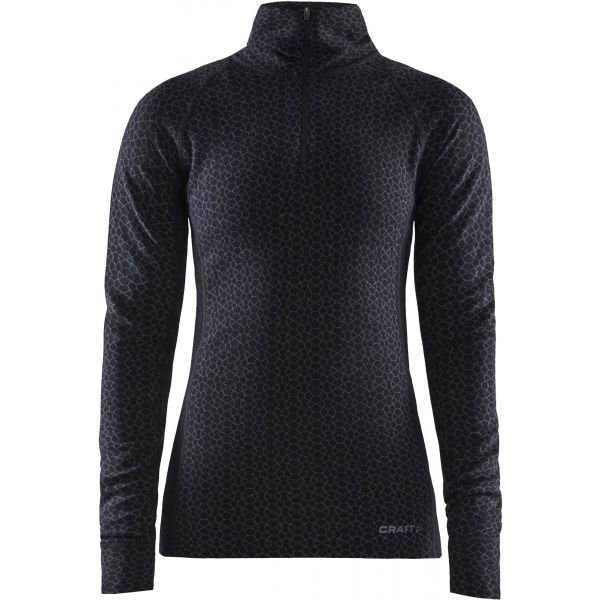 Černé dámské funkční tričko s dlouhým rukávem Craft - velikost XS