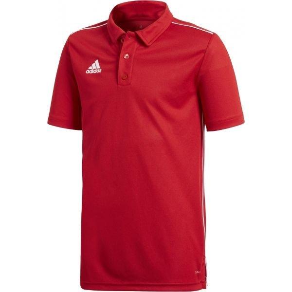 Červená chlapecká polokošile Adidas - velikost 128