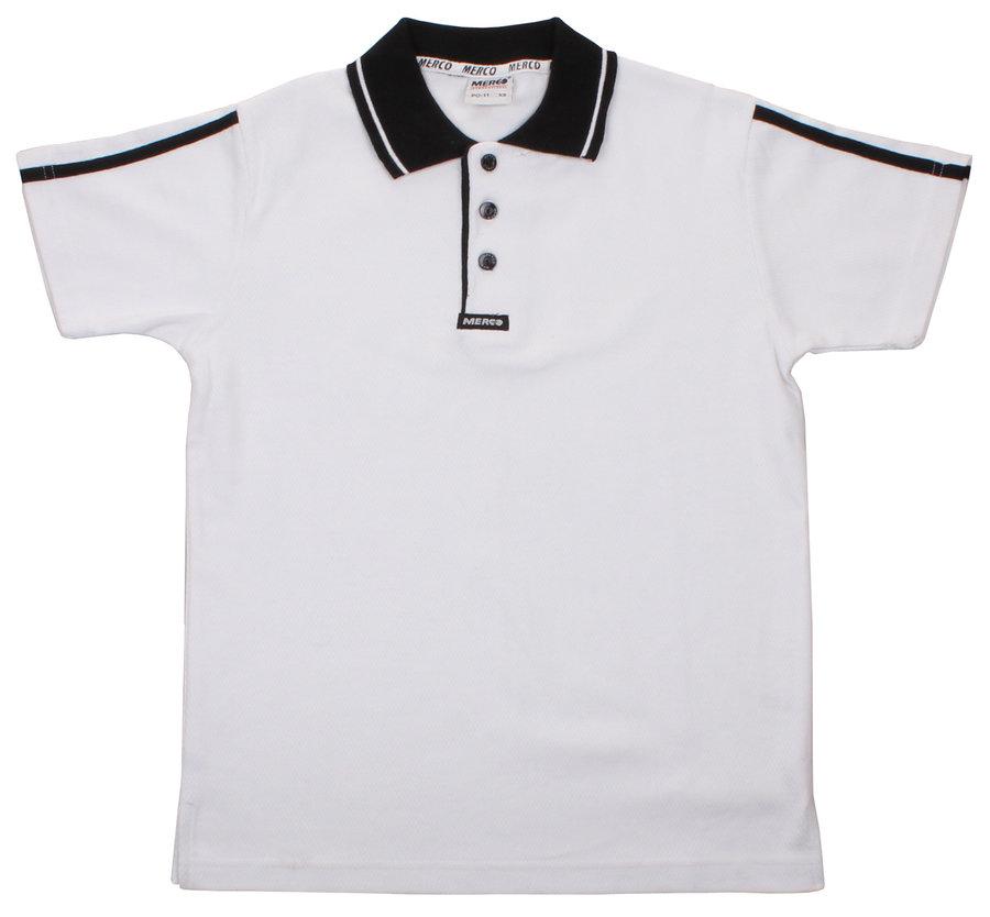 Bílá pánská polokošile s krátkým rukávem Merco - velikost S