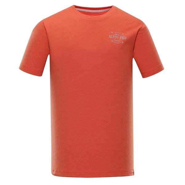 Oranžové pánské funkční tričko Alpine Pro