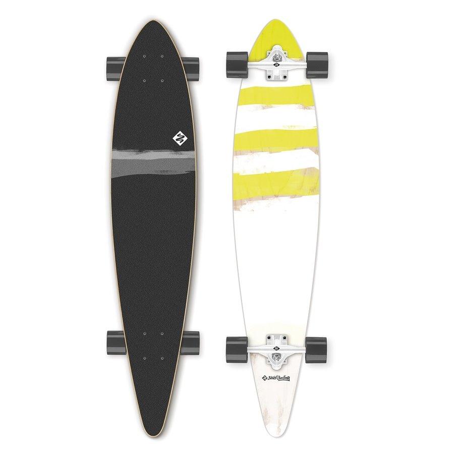 "Longboard - Longboard Street Surfing Pintail - Paipo 46"""
